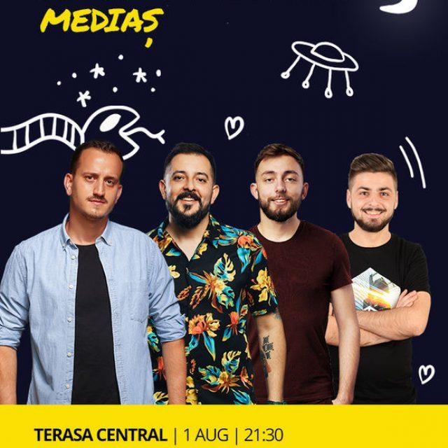 Mane, Gherghe, Cârje și Vacariu vin să facă show la #Mediaș!
