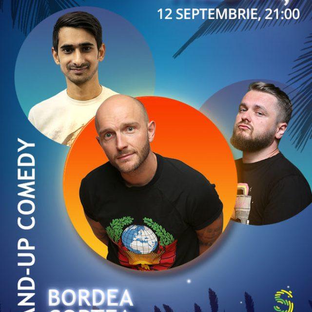 Bordea, Cortea și Florin vin să facă show la Mediaș! Câștigă două bilete la stand up