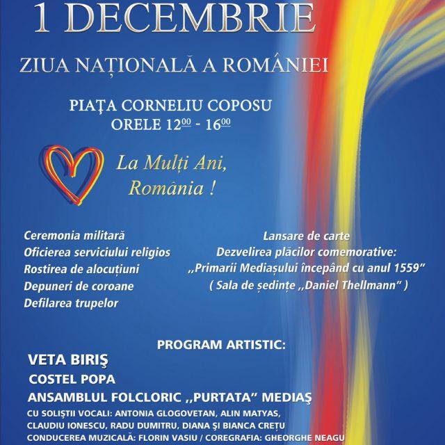 Ziua Nationala a Romaniei -1 Decembrie