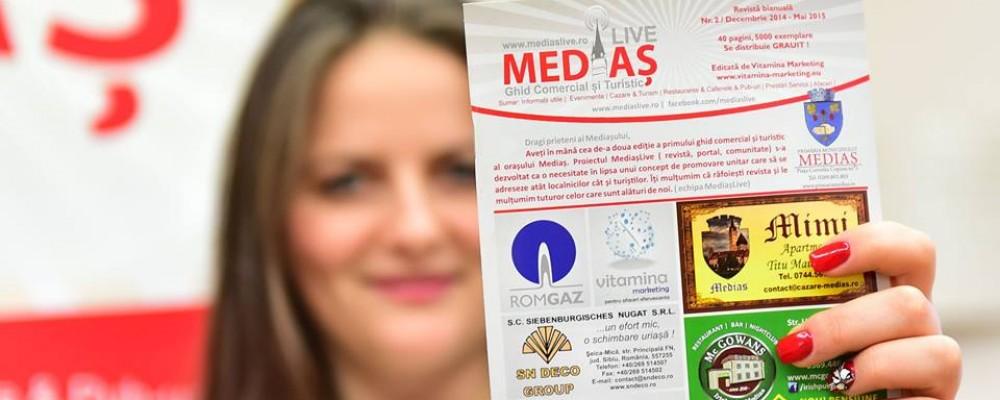 Se lanseaza editia cu numarul 4 a revistei MediasLive