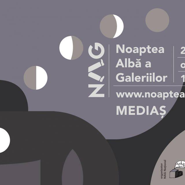 Noaptea Albă a Galeriilor la început de octombrie la #Mediaș