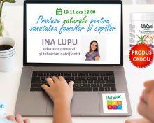 Webinar dedicat sănătății celor mici – Eveniment online pe Zoom