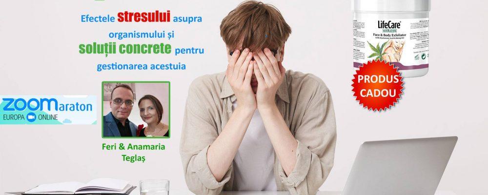 Eveniment online despre efectele stresului asupra organismului și cele mai bune soluții pentru gestionarea acestuia