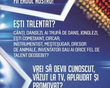 """""""Românii au talent"""" caută concurenți și la Mediaş!"""