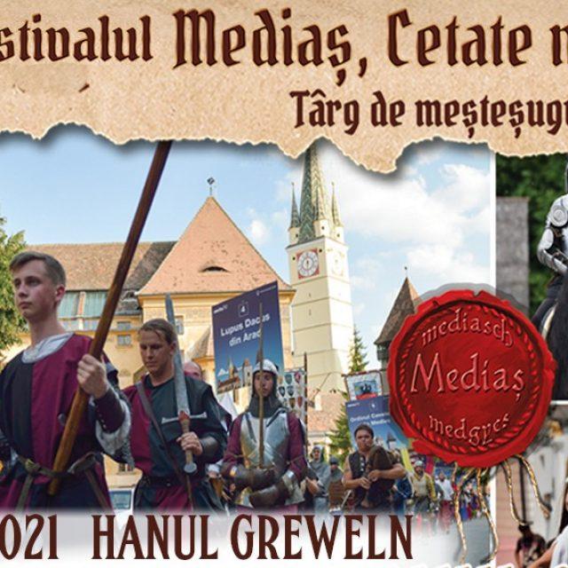 9-11 Iulie – Festivalul Mediaș Cetate Medievală