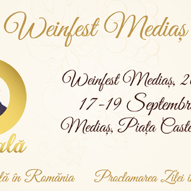 Weinfest 2021 – Se scrie istorie la #Mediaș!