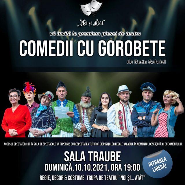 """""""Comedii cu Gorobete"""" de Radu Gabriel"""