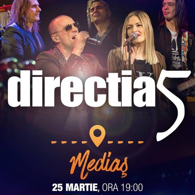 Concert Directia 5 la Sala Traube – 25 Martie