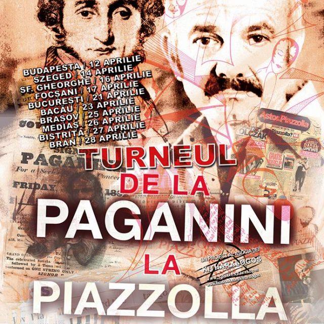 """Turneul """"De la Paganini la Piazzolla"""" la #Medias – 26 Aprilie"""
