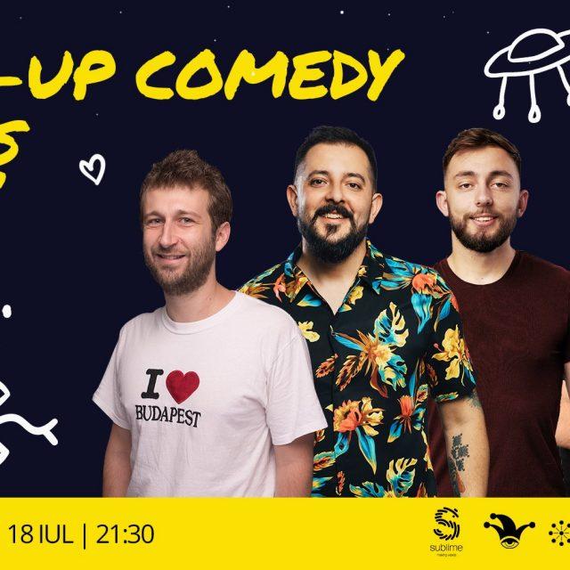 Super show de stand-up comedy la #Mediaș!