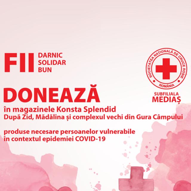 Campanie pentru beneficiari ai Crucii Roșii Subfiliala Mediaș