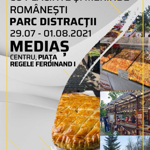 """""""FESTIVALUL DE PLACINTE SI MERINDE ROMANESTI"""" – 29 Iulie – 1 August 2021"""