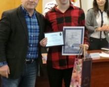Andreea Dragoman – cel mai tanar cetatean de onoare din istoria Mediasului