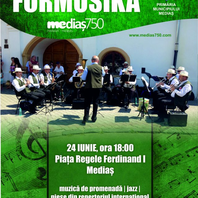 Concert Fanfara Formusika – 24 Iunie