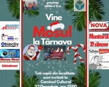 Moș Crăciun vine în Comuna Tîrnava