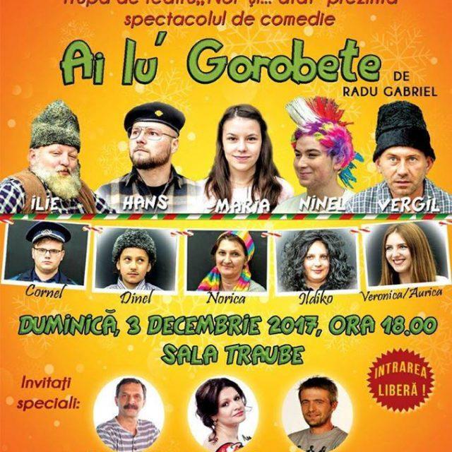 "Teatru – ""Ai lu' Dragobete"" – 3 Decembrie"