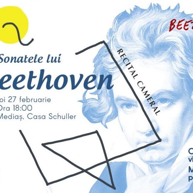 """Recitalul """"Sonatele lui Beethoven"""" la Casa Schuller din #Mediaș"""
