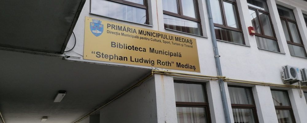 "Se redeschide Bibilioteca Municipală ""ST. L. Roth"""