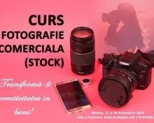 Curs de fotografie comerciala (stock)