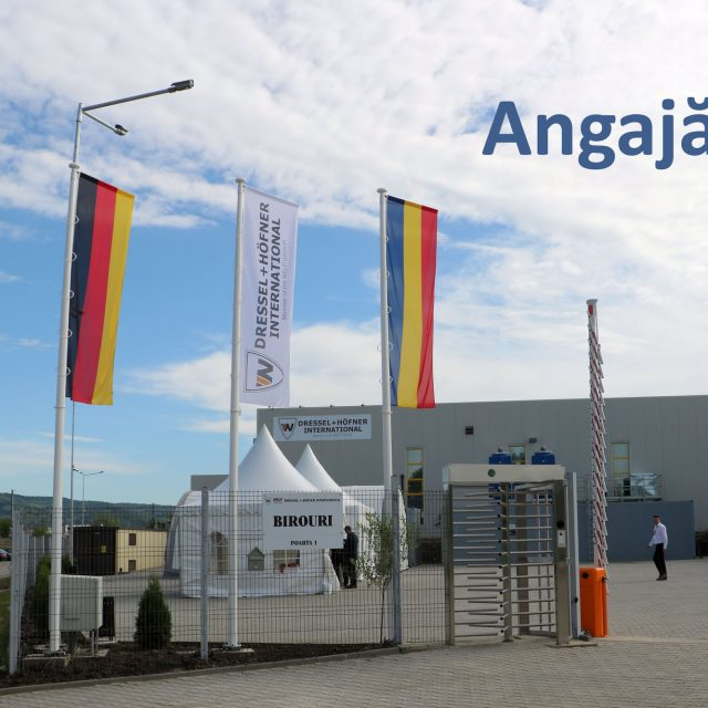 Angajari la Dressel + Hoefner International SRL – August 2020