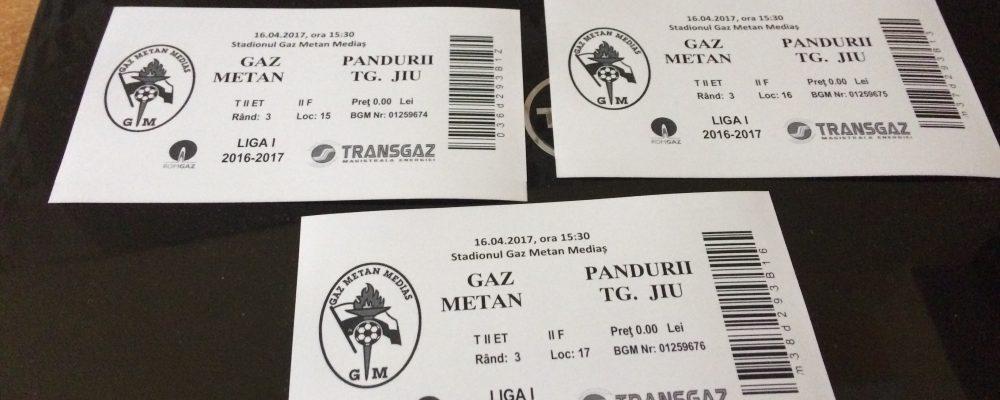 Castiga o invitatie la Gaz Metan – Pandurii Targu Jiu
