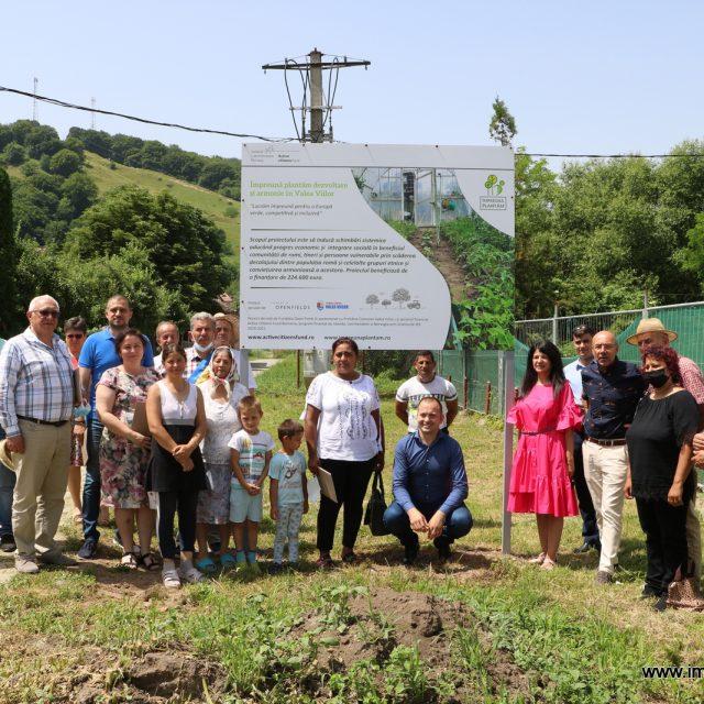 """Proiectul """"Împreună plantăm dezvoltare şi armonie în Valea Viilor"""" a fost lansat oficial"""