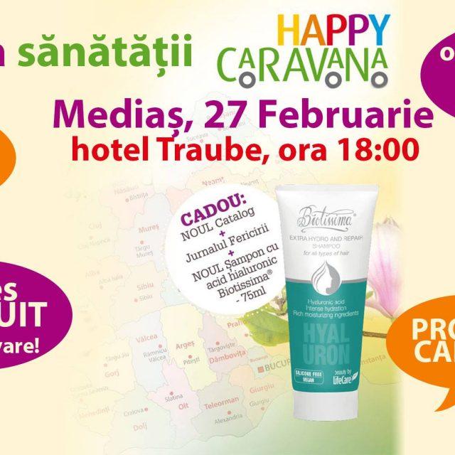 Seara sănătății – Happy Caravana la #Mediaș
