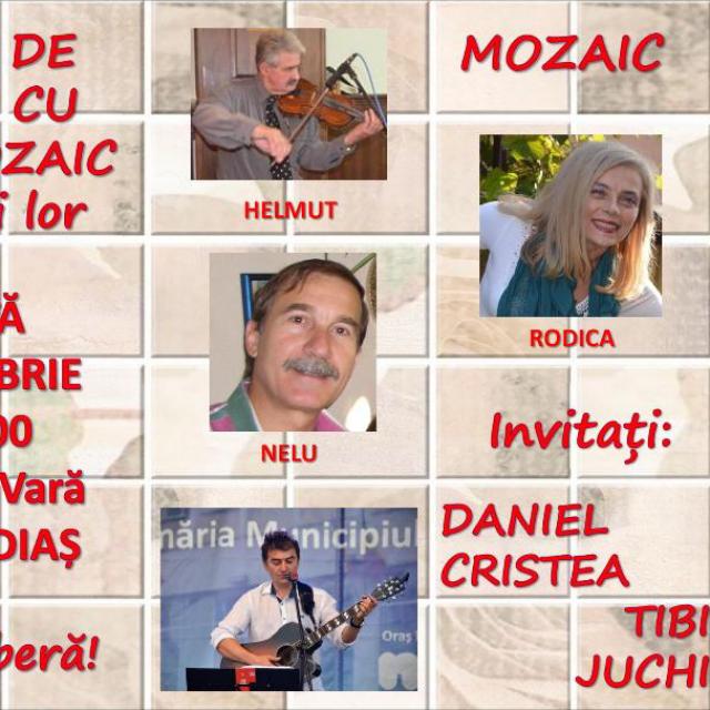 Armonii de toamna cu trupa Mozaic si invitatii lor