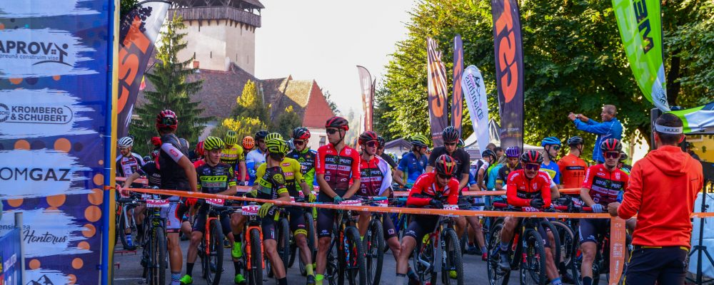 Aproape 700 de participanti din toata tara la Medias Bike Marathon 2021