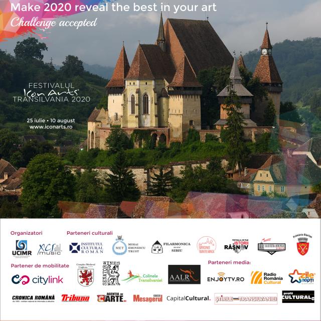 Festivalul ICon Arts Transilvania debutează în acest weekend