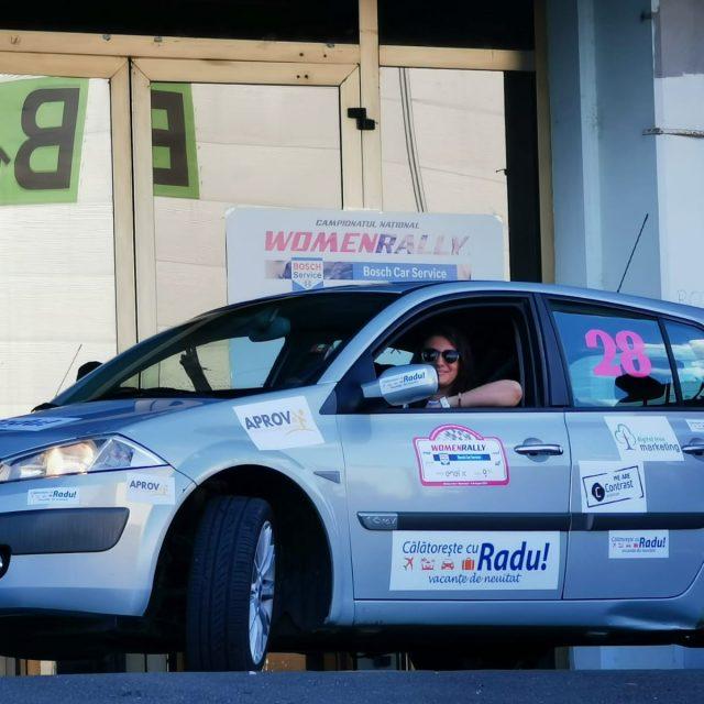 Medieseanca Catalina Diac participa in acest weekend la Campionatul National Women Rally