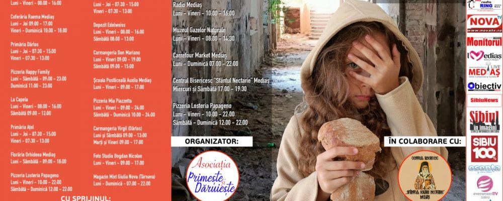 """Asociația Primește și Dăruiește va organiza campania umanitară """"Îmbrățișează-i pe cei nevoiași"""""""