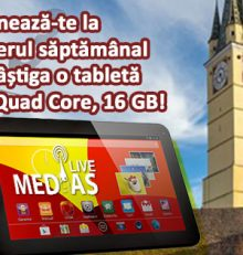 Aboneaza-te la newsletterul MediasLive si castiga o tableta!
