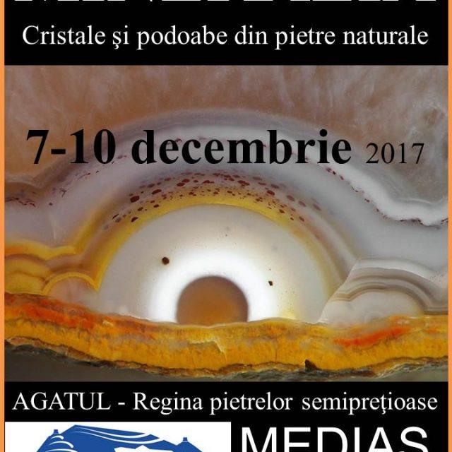 Expoziția Mineralia- Cristale și podoabe din pietre naturale