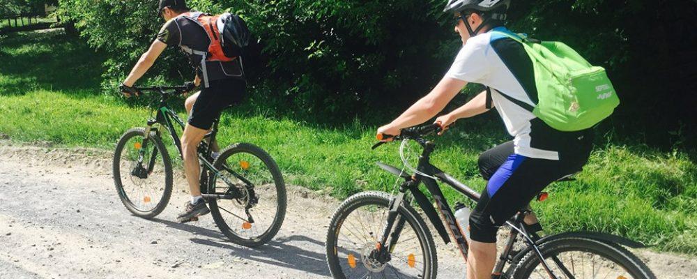 Traseu de 55 de km propus de Colinele Transilvaniei si ATE Dianthus pentru pasionatii de biciclete
