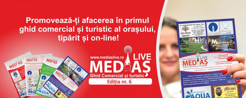 Promoveaza-te in Revista Medias Live nr. 6!