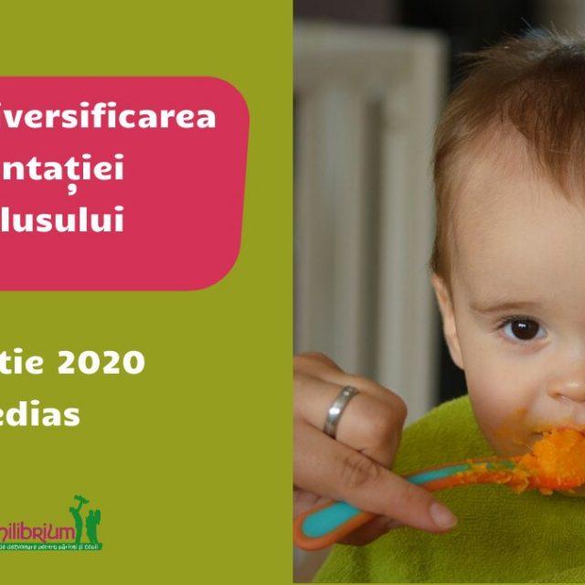 Curs de diversificarea alimentației bebelușului la #Mediaș