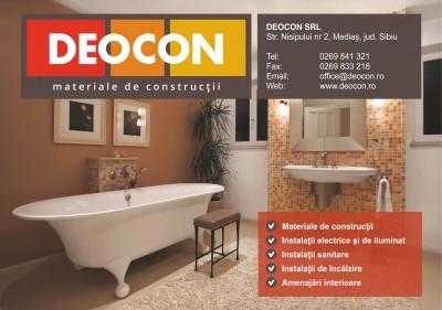 Deocon – materiale de constructii si instalatii