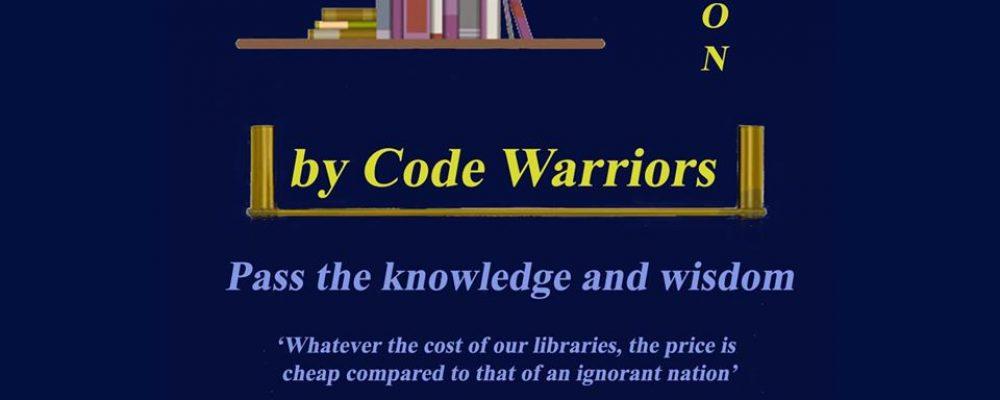 Acțiune de strângere de cărți organizată de Code Warriors Mediaș