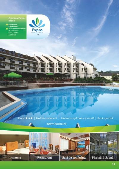 Hotel Expro Bazna – complex balnear