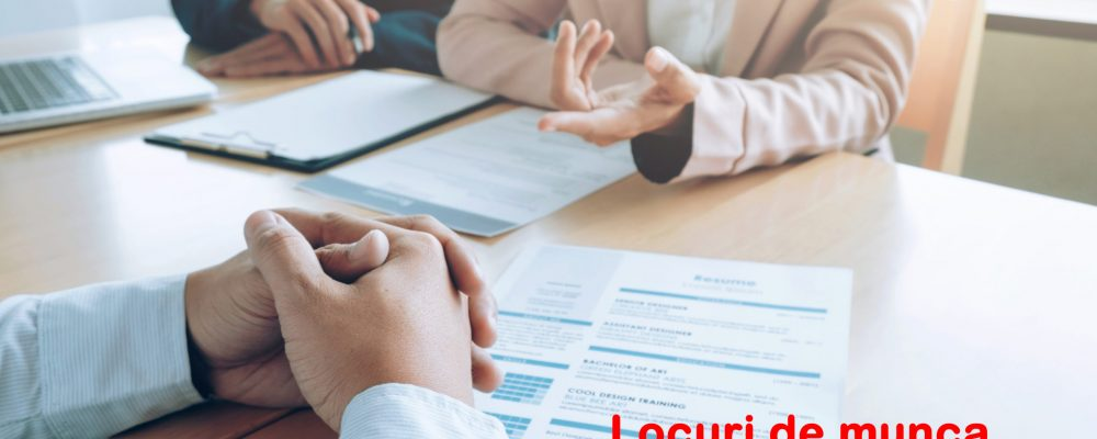 Locuri de muncă disponibile în Mediaș și împrejurimi