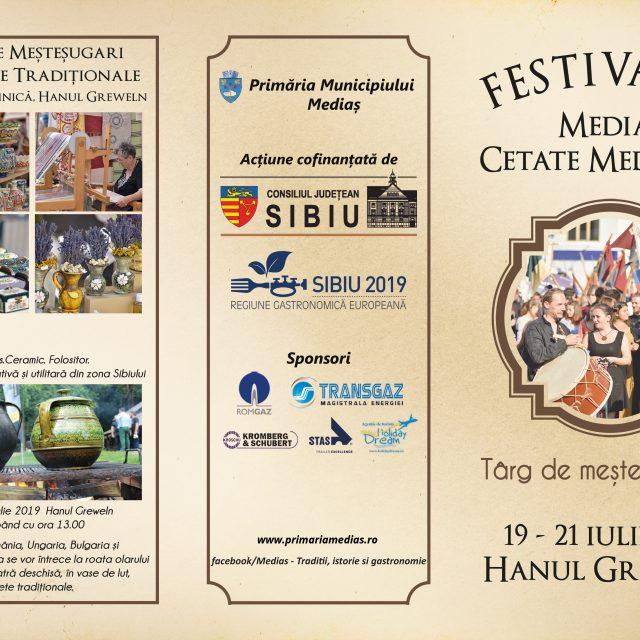 Programul complet al festivalului Medias Cetate Medievala