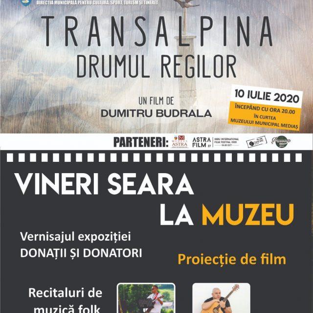 """Evenimentul """"Vineri seară la muzeu"""" organizat de Muzeul Municipal Mediaș"""