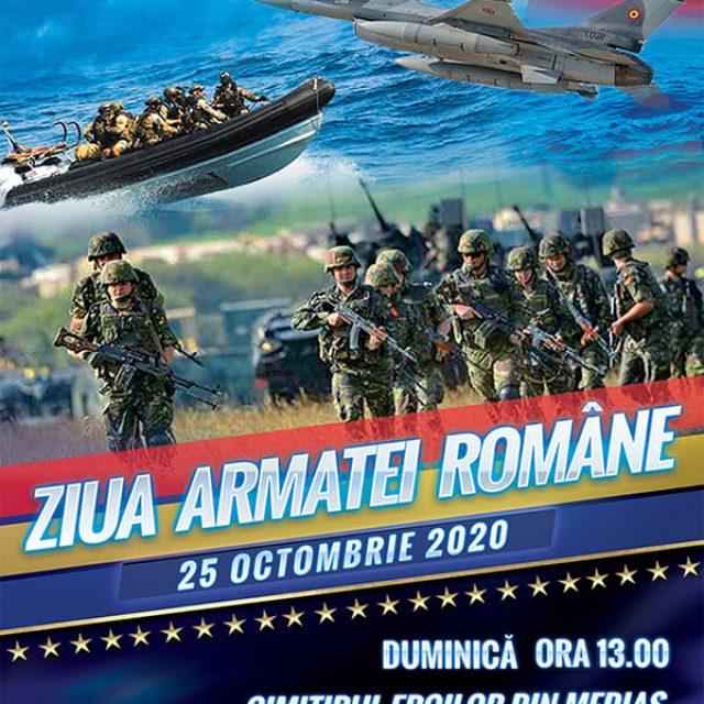 Ziua Armatei Române – Sărbătorită duminică la #Mediaș